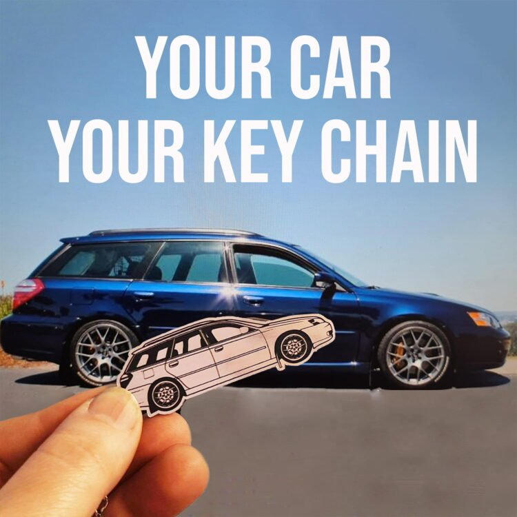 Personalised Car Keyring - Personalised from your Photo 2
