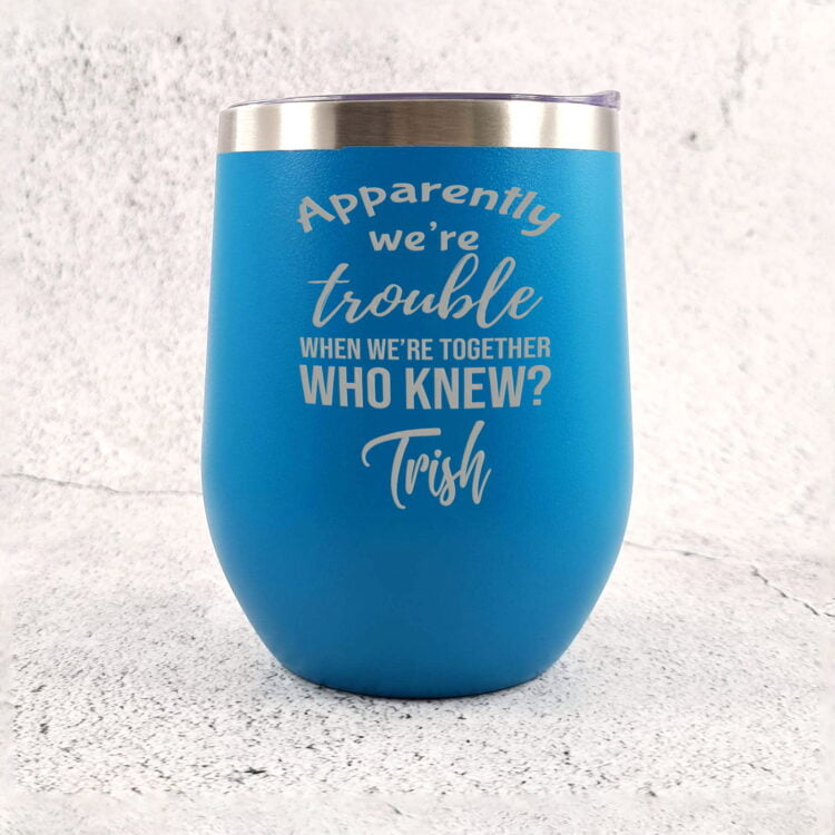 Troublemaker Stainless Steel Travel Tumbler 2