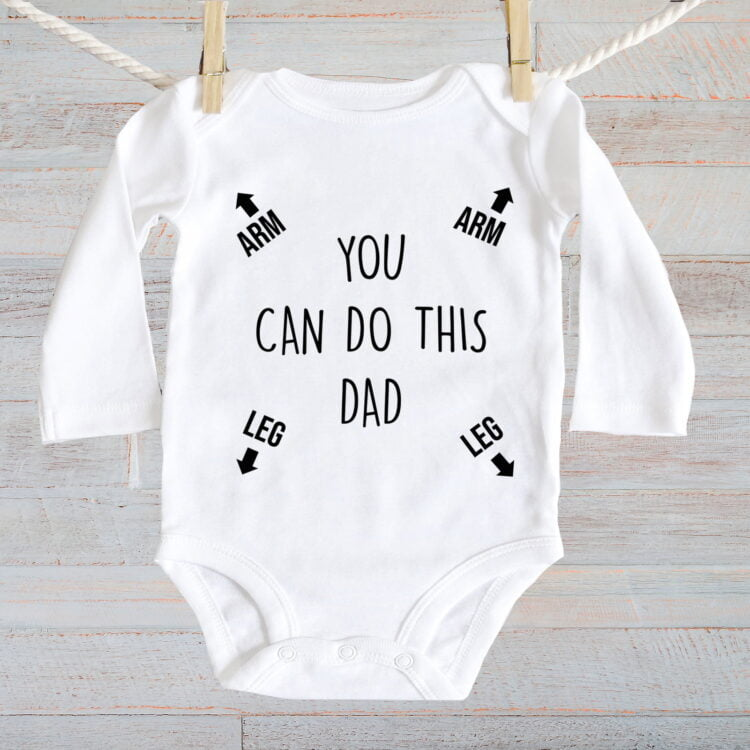 Baby Jumpsuit You can Do this - Long Sleeve 1