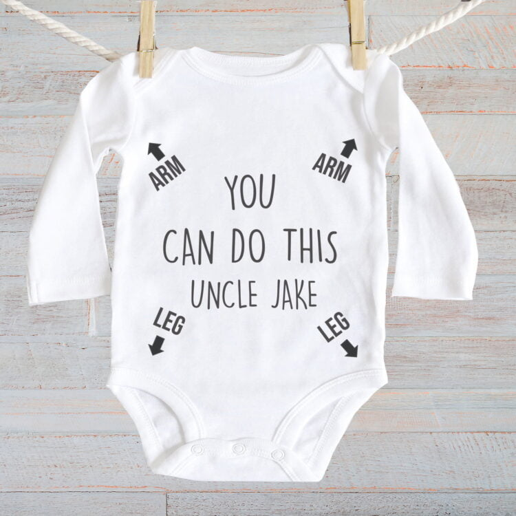 Baby Jumpsuit You can Do this - Long Sleeve 2
