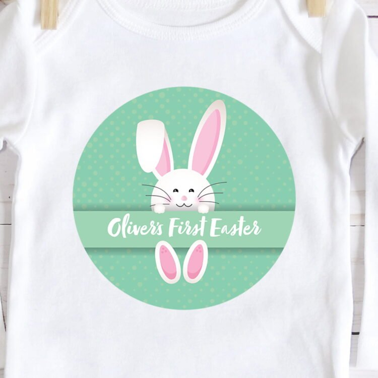 First Easter Baby Jumpsuit - Long Sleeve 2