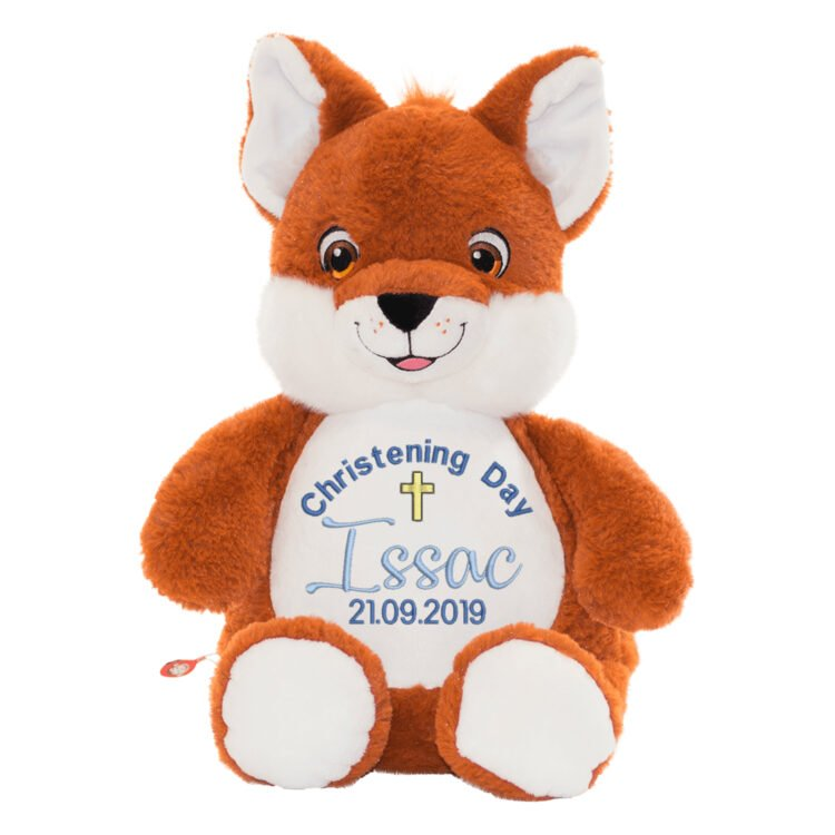 Fox Embroidered Teddy