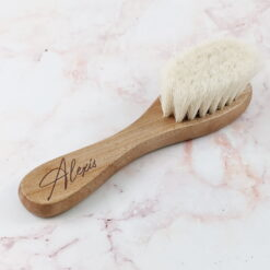 Wooden Brush with Personalised Name