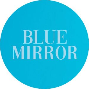 Blue Mirror Acrylic