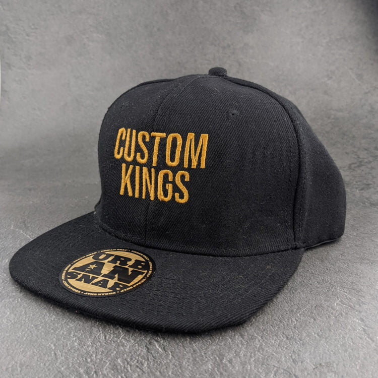 Personalised Snapback Cap With Name | Embroidery 1