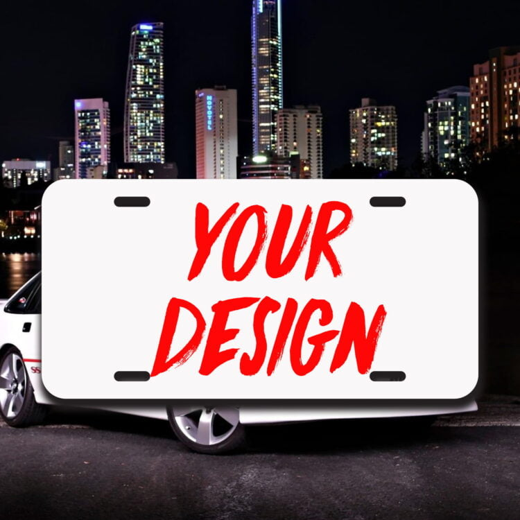 JDM Style Metal Licence Plate 1