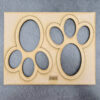 Easter Bunny Paw Print Stencil