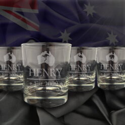 Australiana Glass Tumbler Set