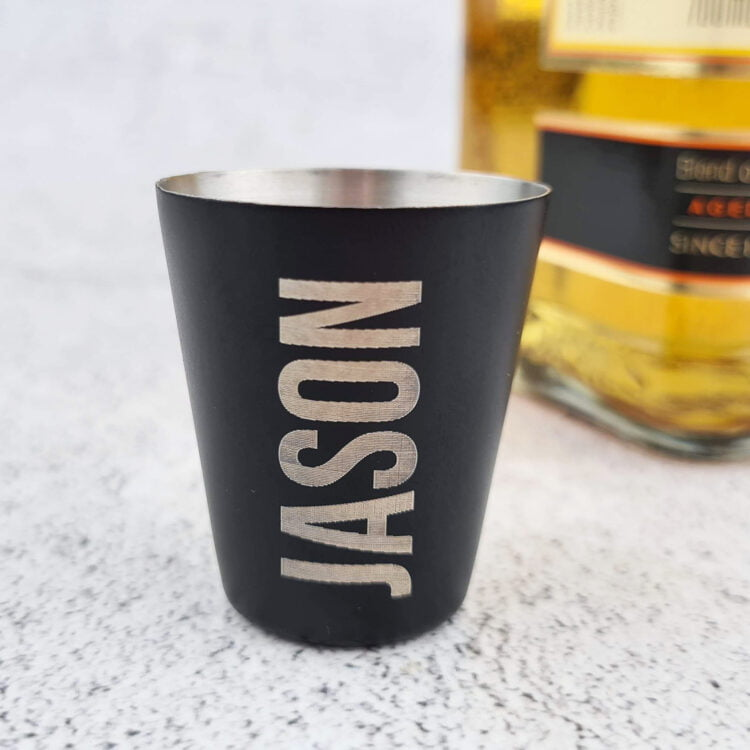 Personalised Shot Glass 3