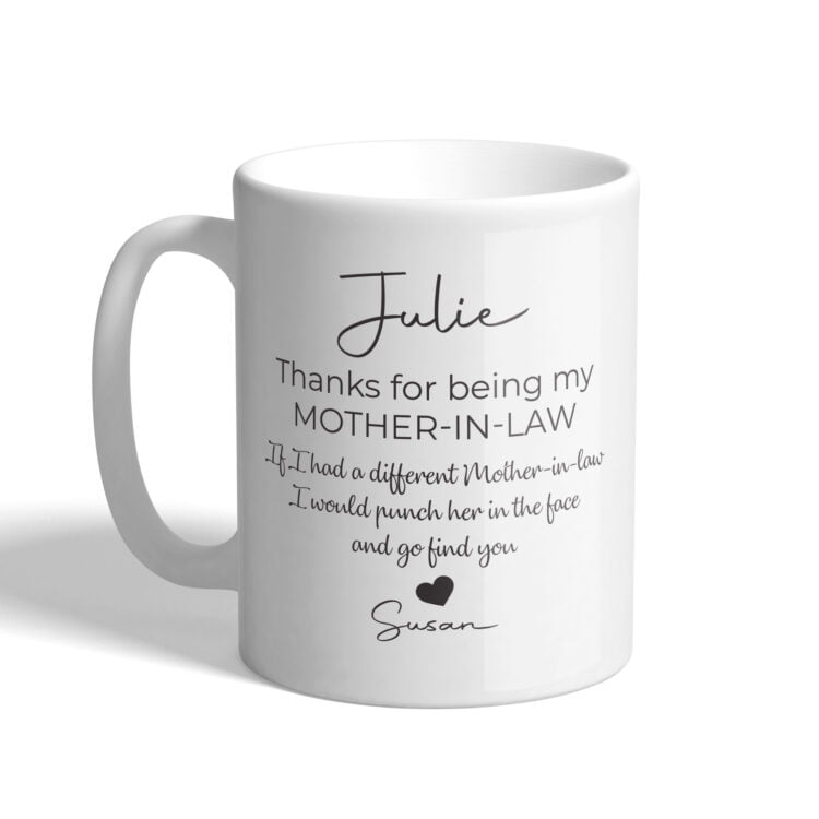 Punch in the Face Coffee Mug 1