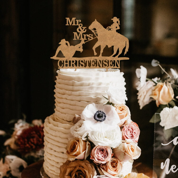 Rodeo Cake topper