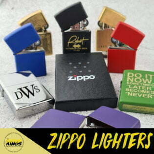 Zippo Lighters Button