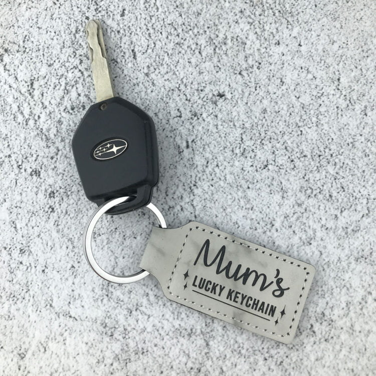 Personalised Lucky Keychain 1