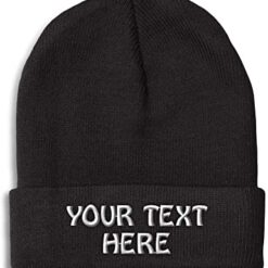 Personalised Beanie With Name