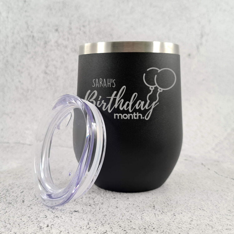 Birthday Month Stainless Steel Tumbler 1