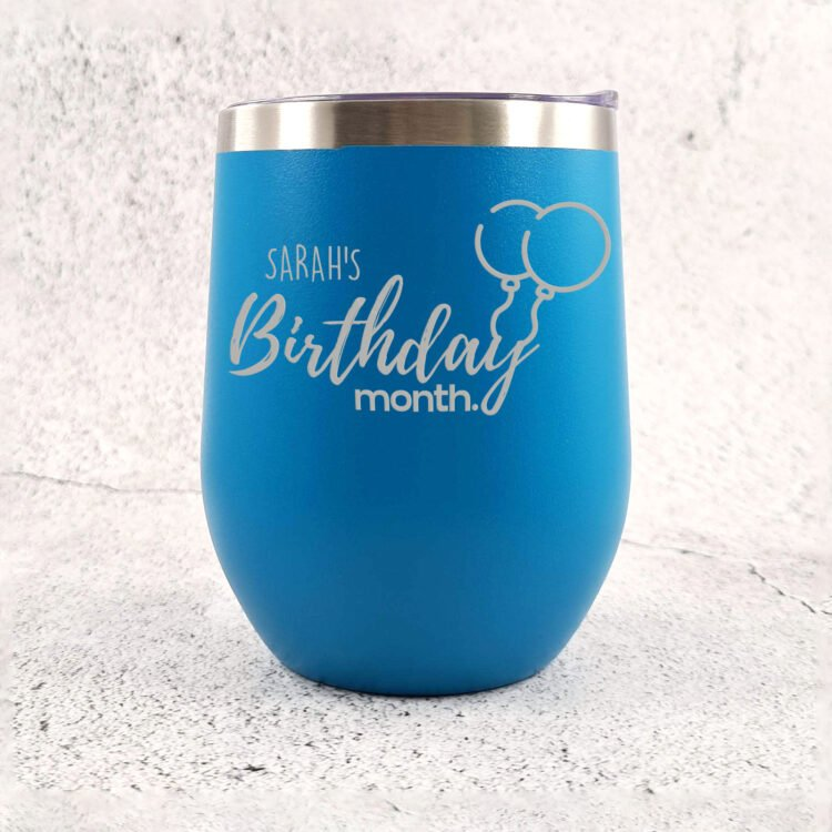 Birthday Month Stainless Steel Tumbler 3