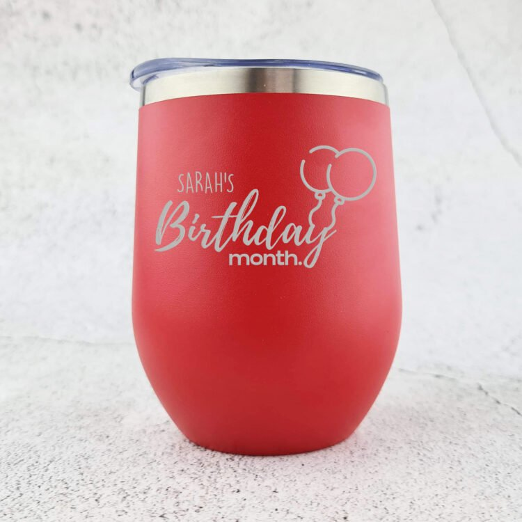 Birthday Month Stainless Steel Tumbler 2