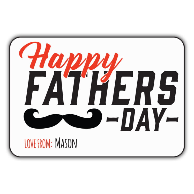 Father's Day - Sticker Set (5 Pack) 2