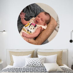 Round Photo Decal - Large