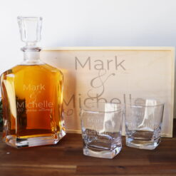 Couples Boxed Decanter Set