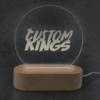 Round Corporate Logo Led light