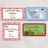 Lebel Christmas Sticker
