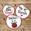 Christmas Sticker Designs