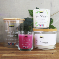 Candle Product Labels